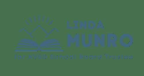 Linda Munro For NVSD School Board Trustee logo